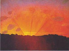 Felix Vallotton - Sunset, 1910