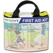104 Piece Emergency First Aid Survival Kit w/ Bag- for Camping, Workplace, Travel & Sports-Canadian Winter Ready.