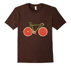 Bike T-Shirt Fun Veggie Fruits Design Green Diet Novelty Tee Green Diet, Canada 150, Bike Shirts, Types Of Shirts, T Shirts For Women, Tees, Mens Tops, Shopping, Clothes