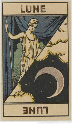 Jeu dit de tarot astologique avec notice explicative par Georges Muchery