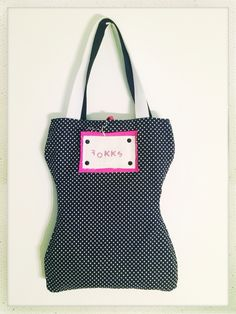 FOKKS side, two faces, personalised bag for little girls