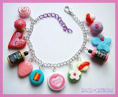 Lush Cosmetics inspired Charm Bracelet