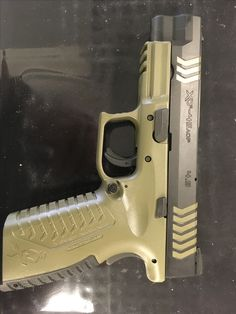 Custom work by AJ at Guns and Range. Exactly how I wanted it. Springfield Arms, Xdm 40, Gun Cases, Everyday Carry, Hand Guns, Range, Storage, Stuff To Buy, Accessories