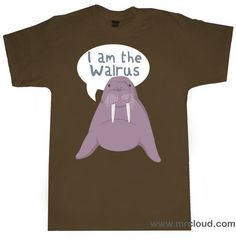 i am the walrus I Am The Walrus, American Bandstand, British Invasion, The Beatles, Unique, Mens Tops, T Shirt, Clothes, Costume Ideas