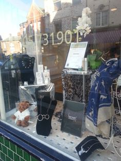 Window display Jan 2014 Chillistone Accessories can be purchased at Ki Beauty Salon Worcester Worcester, Salons, Window, Display, Boutique, Gifts, Accessories, Beauty, Floor Space