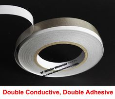 (13mm*20M) Double Sided Adhesive Conductive Fabric Tape for PC Laptop Cellphone LCD Cable Electromagnetic Mount EMI Shielding,