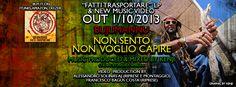 Bujumannu - Non Sento Non Voglio Capire/Fatti Trasportare Release - Cover FB Artwork by Kenji