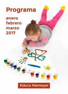 Programa trimestral de actividades y talleres Educa Niemeyer Kids Rugs, Home Decor, Kid Books, Atelier, Activities, Centre, Homemade Home Decor, Kid Friendly Rugs
