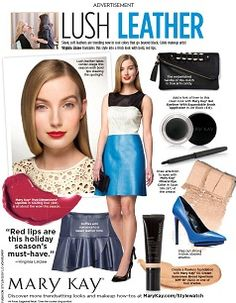 New look in People StyleWatch!  Love my Mary Kay!!