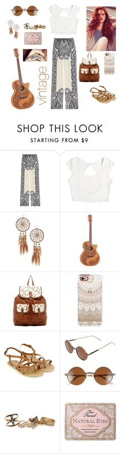 """Free Spirit"" by stormfighter ❤ liked on Polyvore featuring Etro, Miss Selfridge, T-shirt & Jeans, Casetify, Accessorize, A.J. Morgan, Wet Seal and Too Faced Cosmetics"