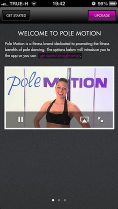 Pole Motion is a complete guide to Pole Dancing Fitness suitable for beginners and advanced level pole fit dancers.  https://itunes.apple.com/app/pole-motion-pole-fitness-dancing/id578921865