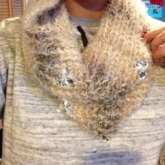 Betsey Johnson Scarf Lovely  sparkly scarf that has never been worn! Got as a Christmas present! NWT!!! Betsey Johnson Accessories Scarves & Wraps