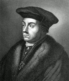 "Portrait of Thomas Cromwell. Cromwell is the main character in Hillary Mantel's novels ""Wolf Hall"" (which won the coveted Booker prize) and ""Bring Up the Bodies"", both of which are great reads about the intrigues at the court of Henry VIII. Uk History, Tudor History, British History, Ancient History, Dinastia Tudor, Los Tudor, Renaissance, Historical Fiction Authors, Movies"