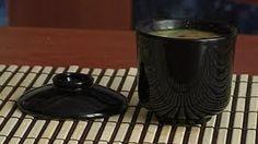 Суп Мисо с маринованными грибами.  Японская Еда