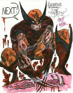 Wolverine by John Byrne & Matt Webb.