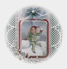 De kaarten van ons Mam: Merry Christmas