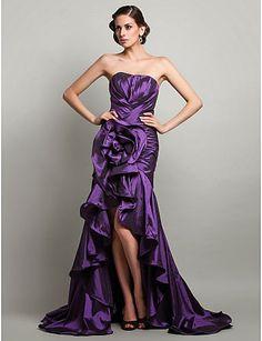 Fenomenales vestidos de fiesta asimétricos | Moda y Tendencias 2014