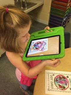 "Ana Eagerton on Twitter: ""#dotday2016 we used the quiver app to make our dots…"