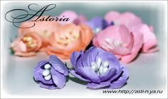 Flower Tutorial by Astoria (She makes some beautiful flowers), Feb 2012 ♥♡♥