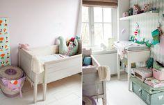 Kidsroom: met Ruitjes behang van Ferm-Living, te bestellen bij Lunabloom