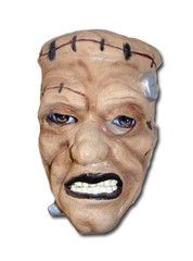 Brown Frankie Halloween Mask   Simply Party Supplies Scary Halloween Masks, Scary Mask, Party Supplies, Portrait, Brown, Headshot Photography, Portrait Paintings, Brown Colors, Drawings