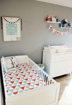 Liam's Modern Geometrics Nursery — My Room | Apartment Therapy