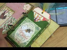 ▶ Tag Envelope Tutorial- Using Envelope Punch Board by We R Memory Keepers - YouTube