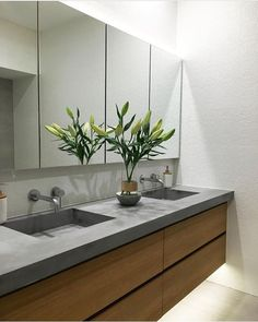 59 ideas for bath room bathtub wood tub surround Bad Inspiration, Bathroom Inspiration, Laundry In Bathroom, Small Bathroom, Modern Bathroom Vanities, The Block Bathroom, Bathroom Sinks, Dream Bathrooms, Bath Vanities