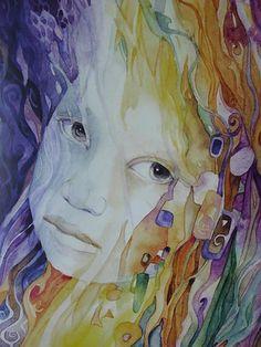 """Indigo Child"" par Helena Nelson-Reed"