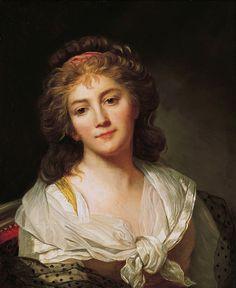 Self-Portrait (1792).Marie-Geneviève Bouliar (French, 1763-1825).Oil on canvas.Norton Simon Art Foundation.