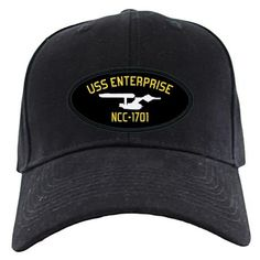 USS Enterprise Regulation-Style Cap