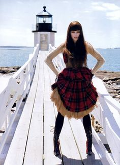 "Coco Rocha in ""The Maine Event"" by Arthur Elgort for Vogue US September 2006"