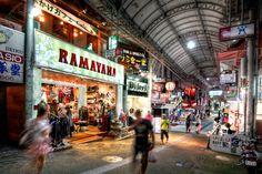 Indoor market, Kokusai Street, Okinawa, Japan