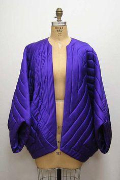 Evening jacket Design House: Halston  Designer: Charles James  Date: 1970
