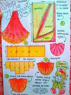 Skirt Sewing Basics, Sewing Hacks, Sewing Tutorials, Sewing Crafts, Sewing Projects, Patterns Of Fashion, Pattern Fashion, Clothing Patterns, Sewing Patterns
