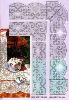 1060 fantastiche immagini in uncinetto lenzuola su for Pizzi all uncinetto per lenzuola