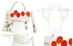 Cartamodelli per le borse - Cartamodello della Kelly