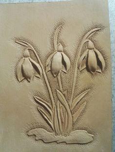 """Обложка на паспорт """"Весна"""", в процессе создания"""