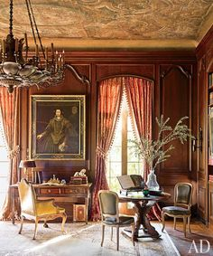 Renovating a French-Inspired Houston Mansion.  Kara Childress via Architectural Digest.
