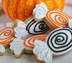 ¿Caramelos? No, ¡galletas! El mejor dulce para Halloween ;)