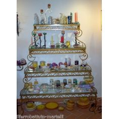 Wrought Iron Consolle Furniture. Customize Realizations. 321 Wrought Iron, Advent Calendar, Holiday Decor, Console, Furniture, Ebay, Home Decor, Decoration Home, Room Decor