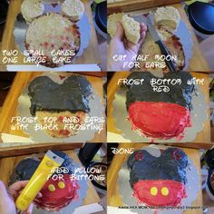 Running away? I'll help you pack.: Mickey Mouse Party ... Mickey Mouse Cake