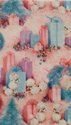 Vintage Poodle Gift Wrap