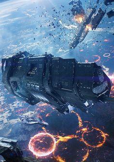 Spaceship Art, Spaceship Design, Arte Sci Fi, Sci Fi Art, Space Fantasy, Sci Fi Fantasy, Odst Halo, Halo 2, Halo Ships