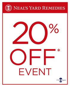 Sale starts 8pm tomorrow-1st December. Includes 20% Off gifts for Christmas order at uk.nyrorganic.com/shop/sarah_hannant
