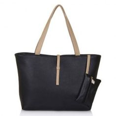 $7.08 Casual Women's Shoulder Bag With Color Matching and Small Wallet Design