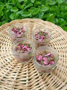 Pickled sakura cherry blossoms
