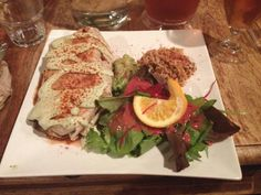 Lola Rosa is a Vegetarian (Vegan Friendly) Mexican, Comfort Food Restaurant and it has two locations. There is one located at 545 Rue Milton and another. Vegan Friendly, Montreal, Vegan Vegetarian, Restaurants, Chicken, Ethnic Recipes, Food, Restaurant, Meals