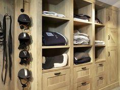 Organized tack room