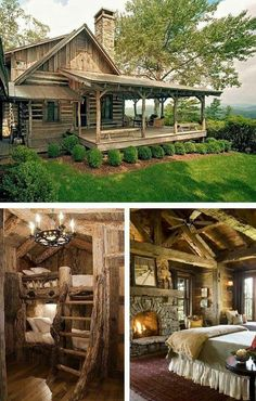 Vacation place in the woods